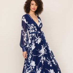 Yumi Kim XS Giselle Maxi - Floral Dance Midnight